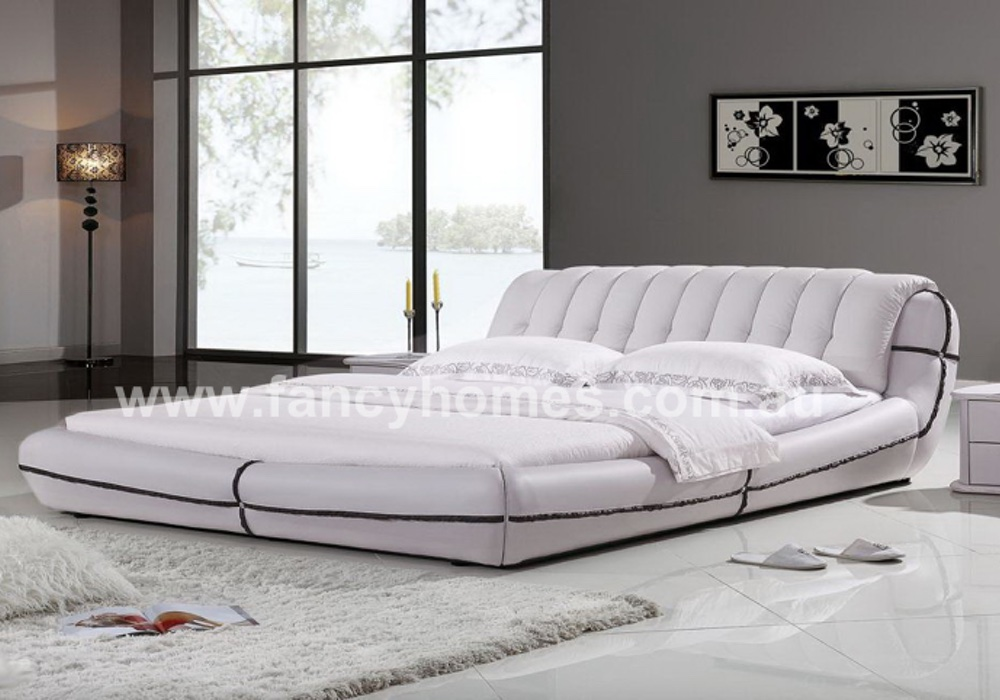 shop fancy contemporary leather product italian frame bed edmund homes