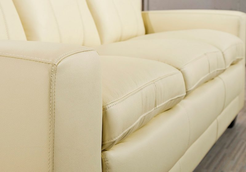 High-density foam is used in Fancy Homes Cacao lounges suites leather sofa construction