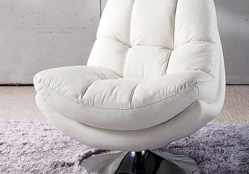 Fancy Homes Eugene lounges suites leather sofa comes with a single swivel chair