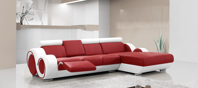 Ruota B Leather Chaise Lounge