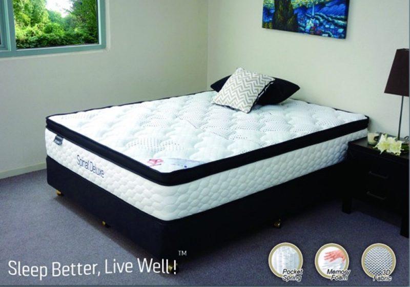 pocket spring mattress plush