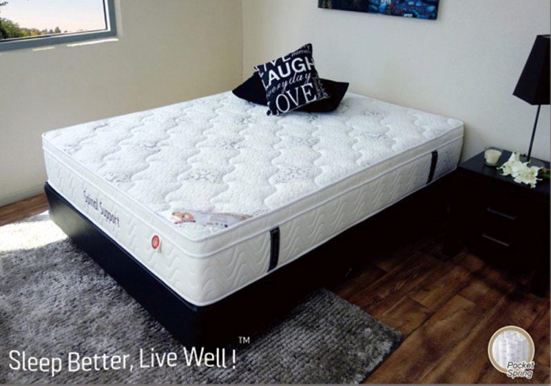 Spinal support mattress