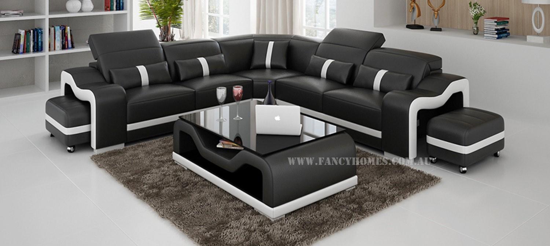 KORI-B Corner Leather Sofa