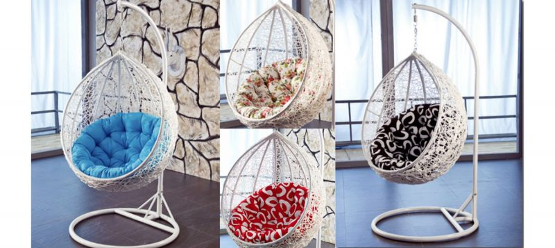 Fancy Homes ZWP788-W hanging chair all colours