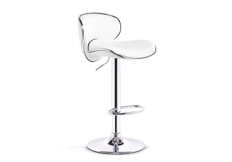 eton bar stool white