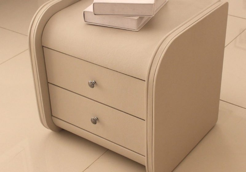Fancy Homes SY-01 PU Leather Bed Side Table
