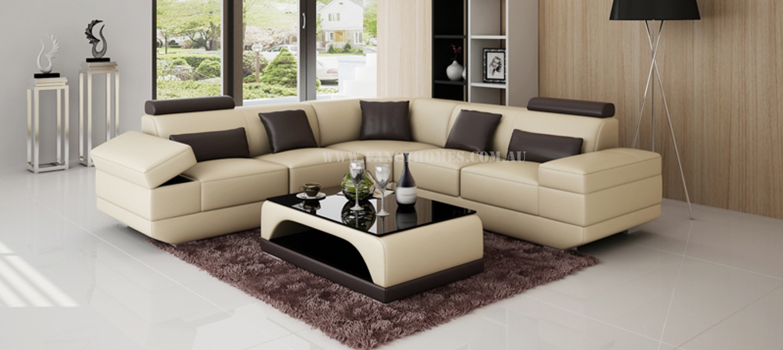 CASANOVA-B Corner Leather Sofa