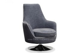 swivel ARMCHAIR IN GREY