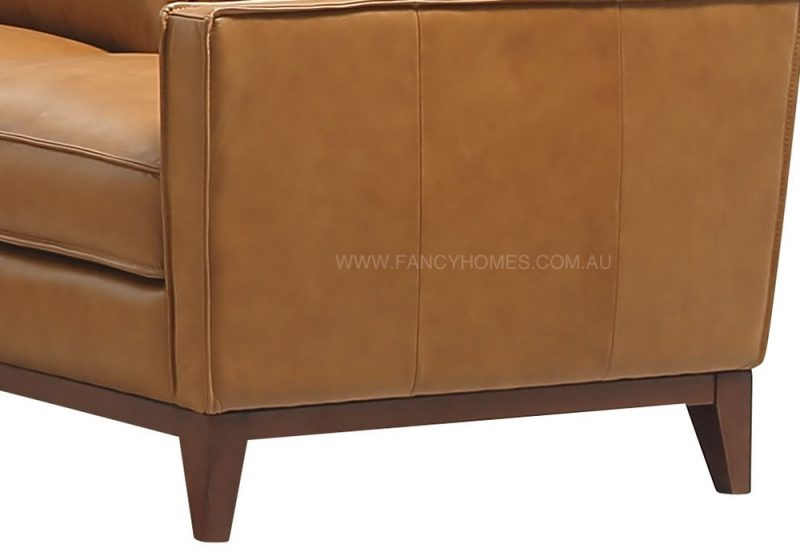 Fancy Homes Fargo lounges suites leather sofa with solid timber legs deliver more contemporary appearance