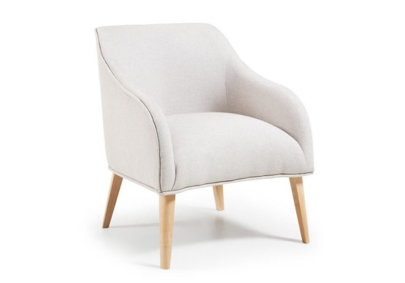 ARMCHAIR IN WHITE