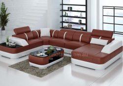 sectional U-Shape corner lounge