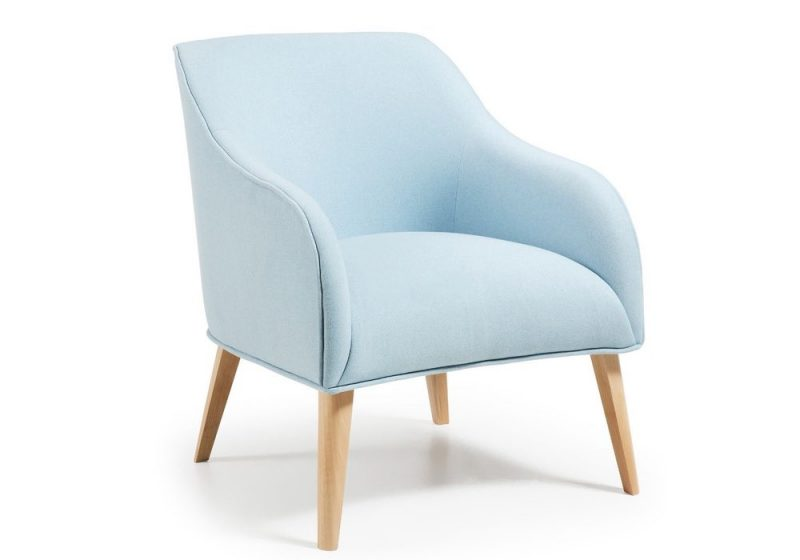 armchair in BLUE