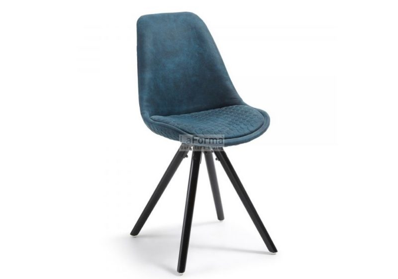 Lars dining chair in blue