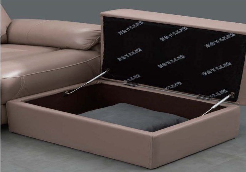 Fancy Homes Brooks-B ottoman with storage function