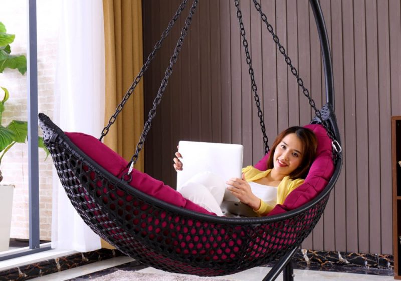 Fancy Homes BP906-B hanging chair, hanging chairs wicker basket