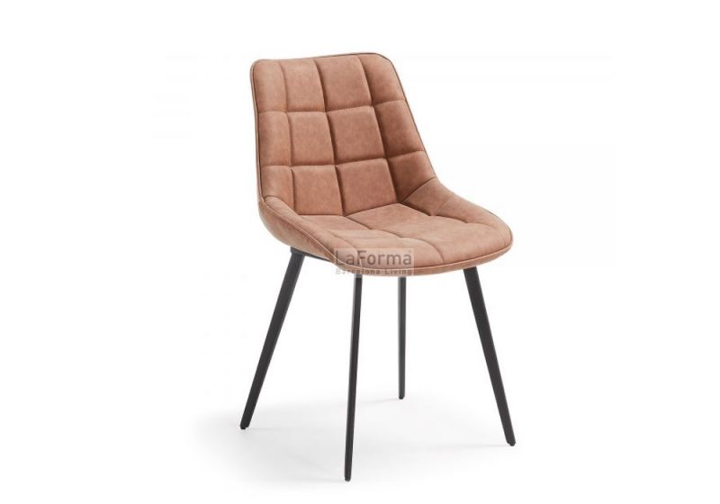 ADAH-DINING CHAIR- RUST