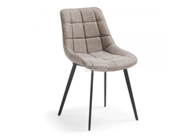 ADAH-DINING CHAIR- TAUPE