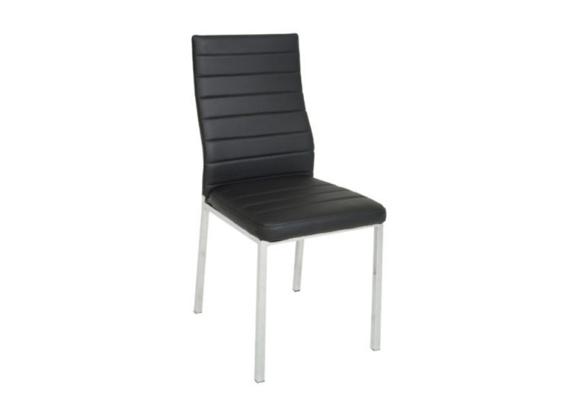 NAPOLI -DINING CHAIR BLACK
