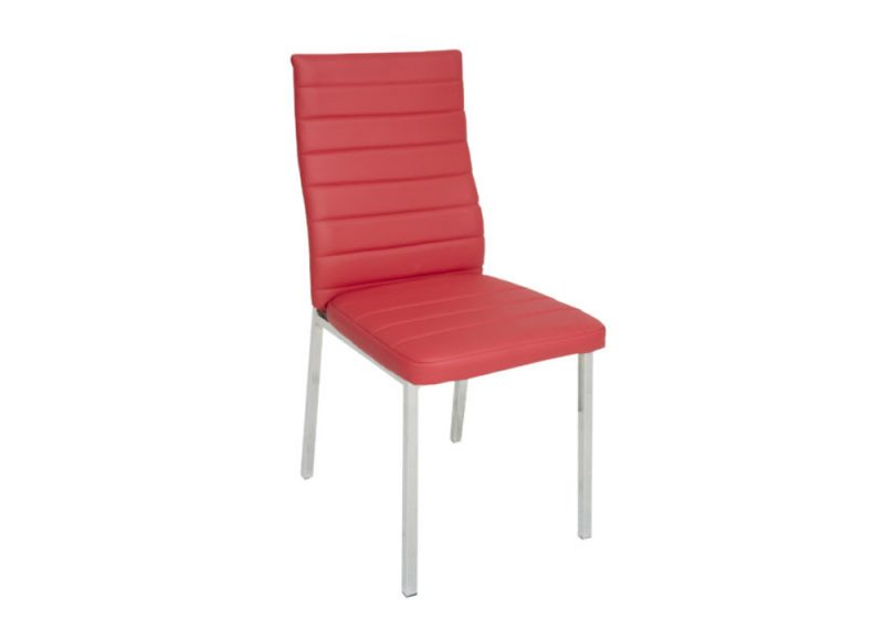 NAPOLI-DINING CHAIR RED