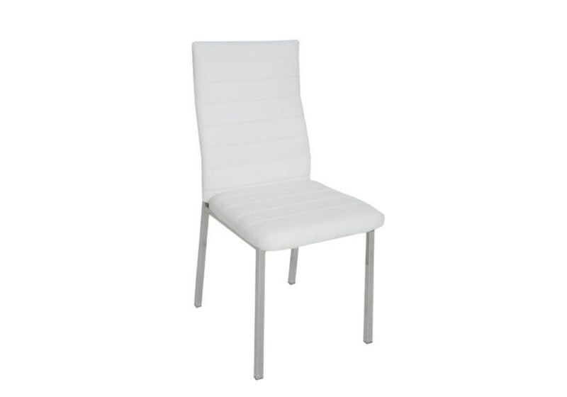 NAPOLI DINING CHAIR WHITE