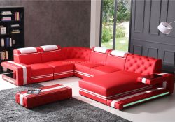 catrina leather modular lounge