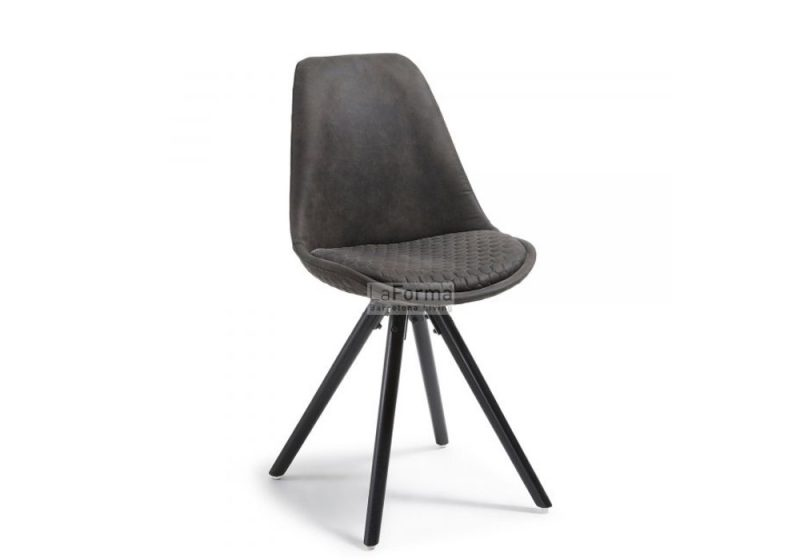 Fancy Homes lars dining chair in Graphite