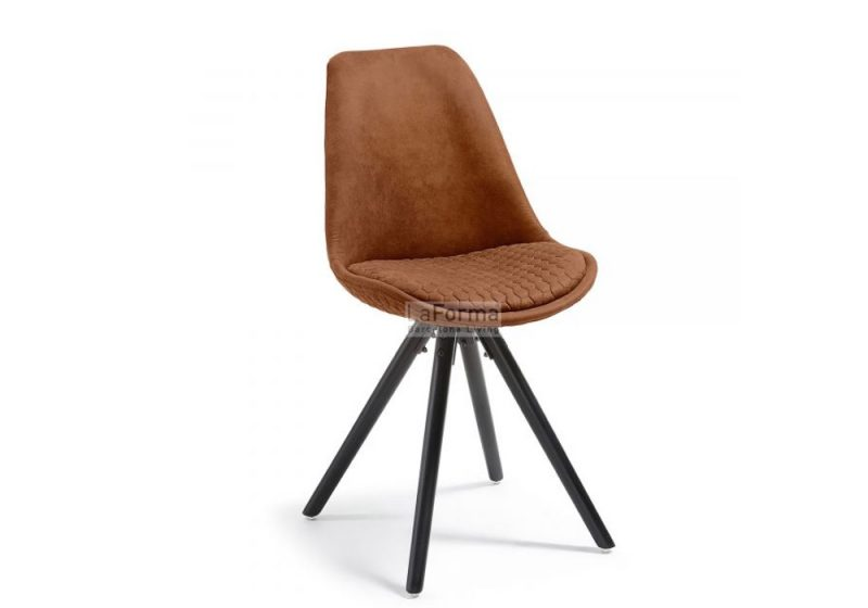 Fancy Homes lars dining chair in rust