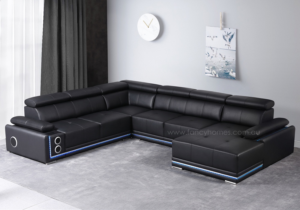 STEREO Modular Leather Sofa
