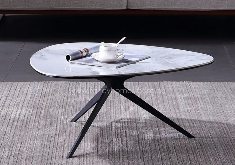 Fancy Homes Erik Ceramic Top Coffee Table