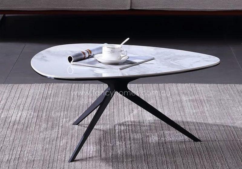 Fancy Homes Erik Ceramic Top Coffee Table