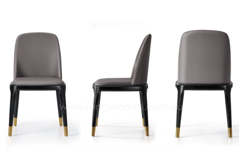 Fancy Homes Frank-B armless dining chairs details