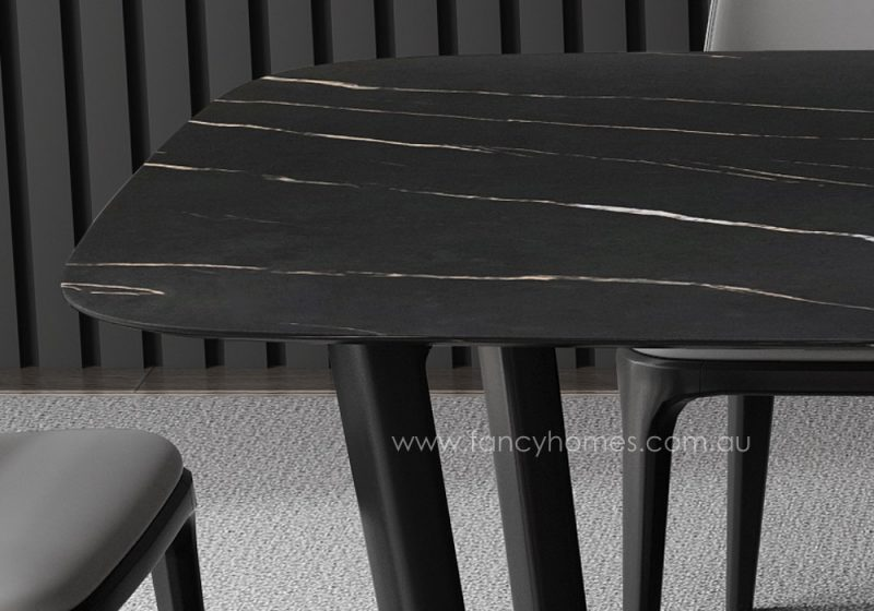 Fancy Homes Jacob sintered stone dining table top, tables
