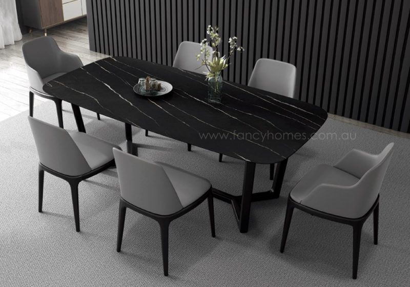 Fancy Homes Jacob sintered stone dining table, tables