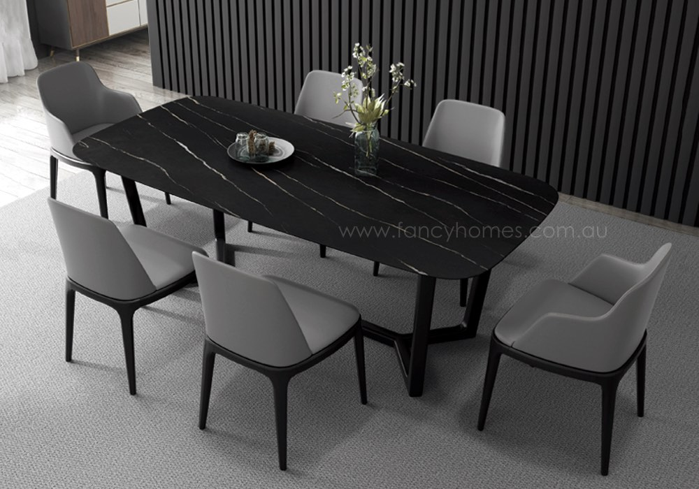 Buy Jacob Sintered Stone Dining Table Tables Fancy Homes
