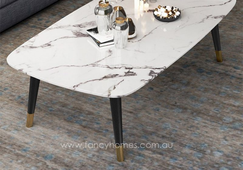 Fancy Homes Lexi marble top coffee table top