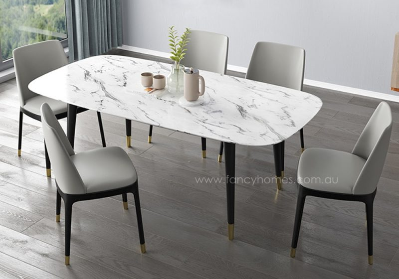 Fancy Homes Lexi marble dining table top
