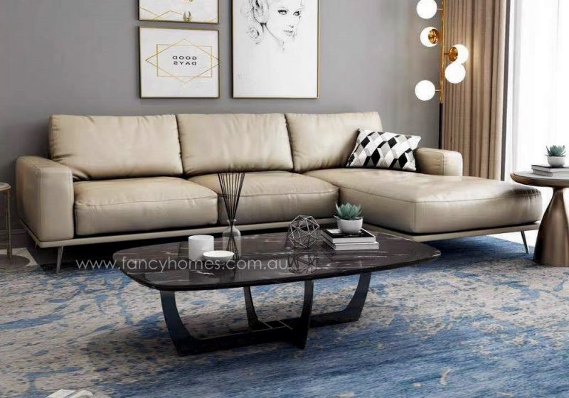 Fancy Homes Oscar Marble Coffee Table