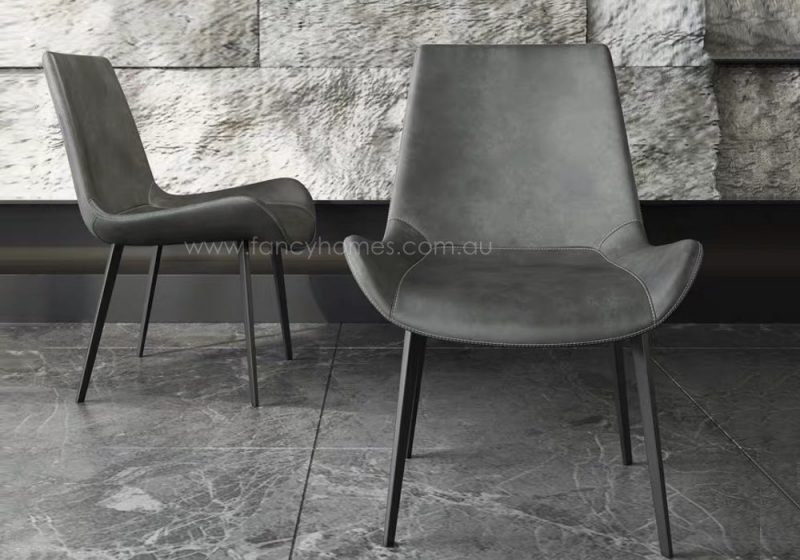 Fancy Homes Ryder dining chair in grey