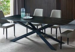 Fancy Homes Waverly sintered stone dining table