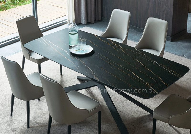 Fancy Homes Waverly sintered stone dining table top