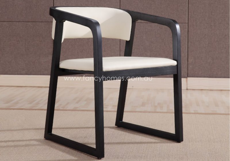 Fancy Homes Chiara arm dining chair