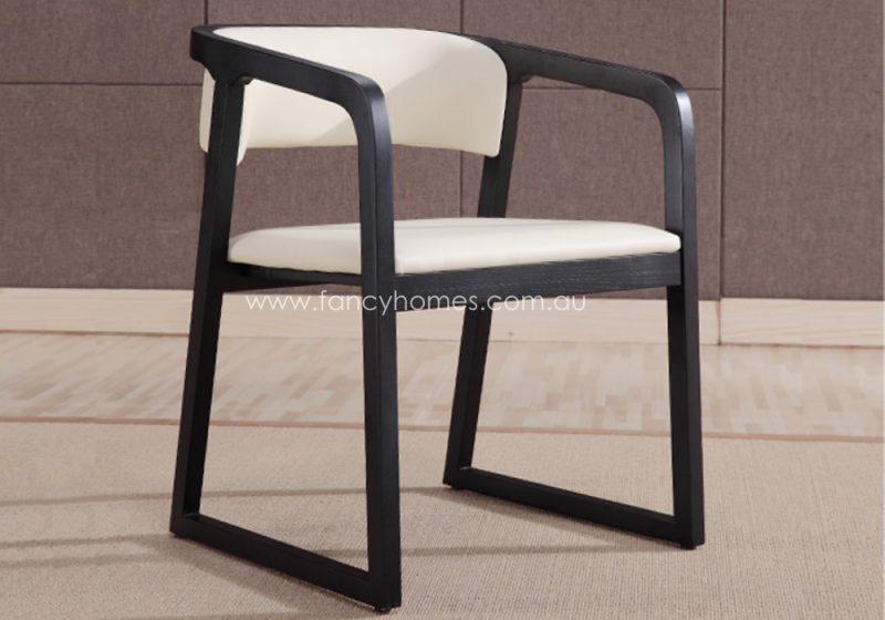 Fancy Homes Chiara arm dining chair