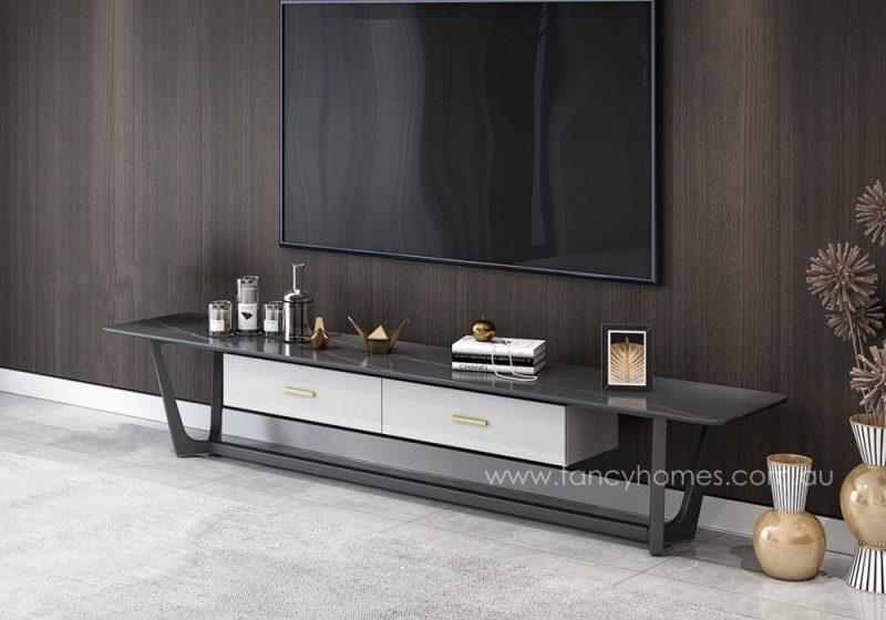 Fancy Homes Jacob sintered stone TV unit, TV furniture