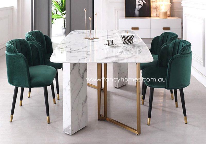 Fancy Homes Tyra Velvet Dining Chair
