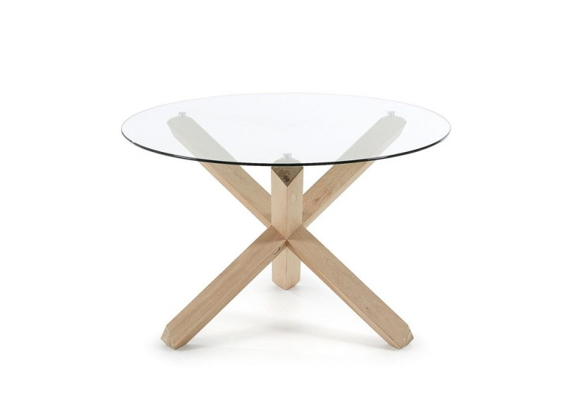 ROUND DINING TABLE GLASS