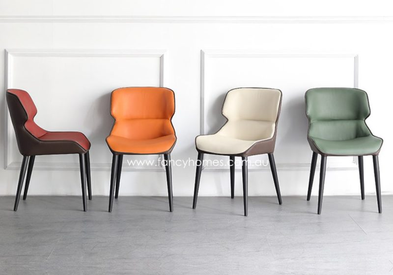 Fancy Homes Kieren Dining Chairs Multi Colour