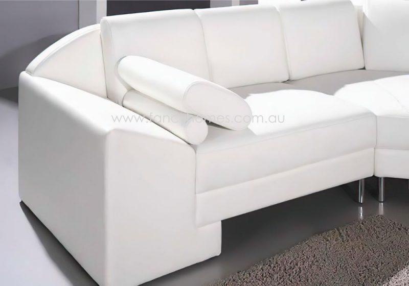 Fancy Homes Madison Modular Leather Sofa Armrests