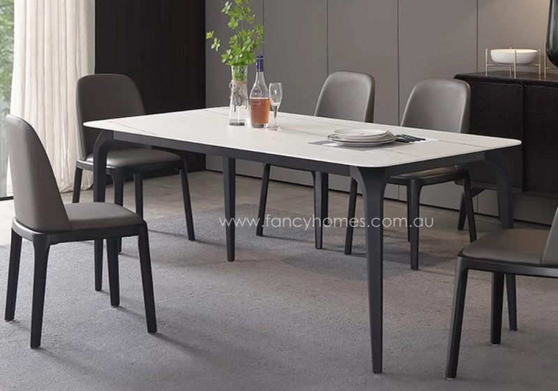 Fancy Homes Alexis Sintered Stone Dining Table