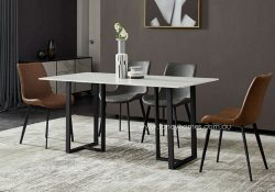 Fancy Homes Carter Marble Top Dining Table