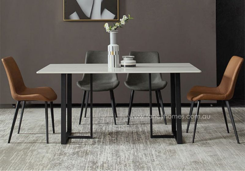 Fancy Homes Carter Marble Top Dining Table, Tables